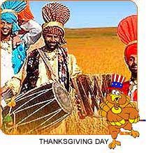 Thanksgiving Day in India