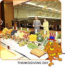 Thanksgiving Day in Korea