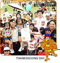 Thanksgiving Day in Malaysia