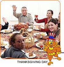 Thanksgiving Day Around the World
