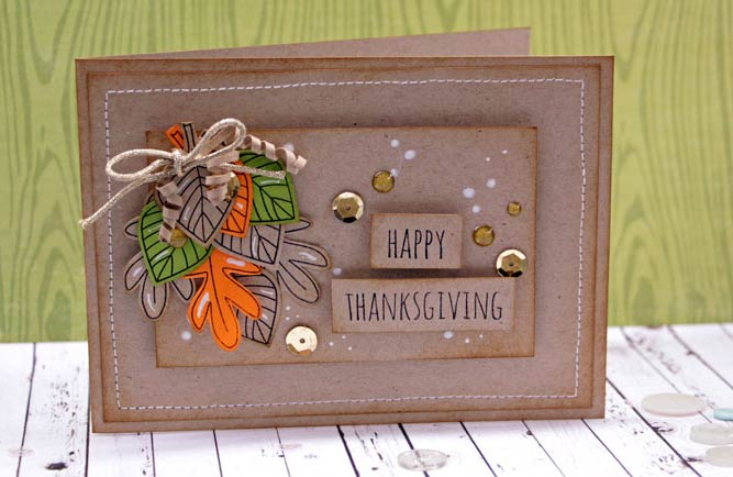 Creative Thanks Giving Day Cards